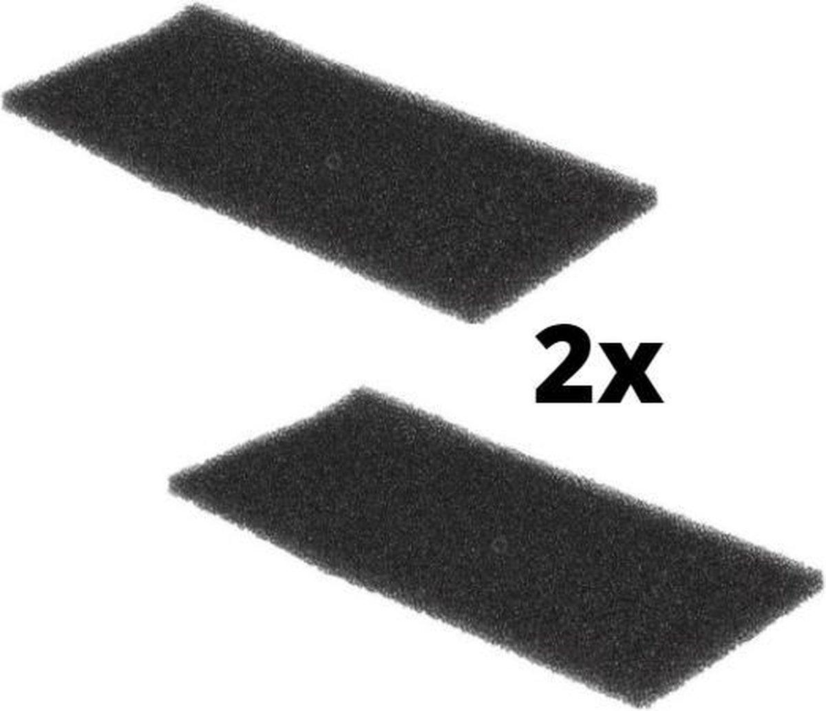 Whirlpool Bauknecht Ignis filter schuim foam filter droger – 2 stuks – schuimfilter 220 x 110 mm wasdroger warmtewisselaar origineel