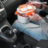InnovaGoods Elektrische Lunchbox voor Auto's 40W 12 V Wit Zwart