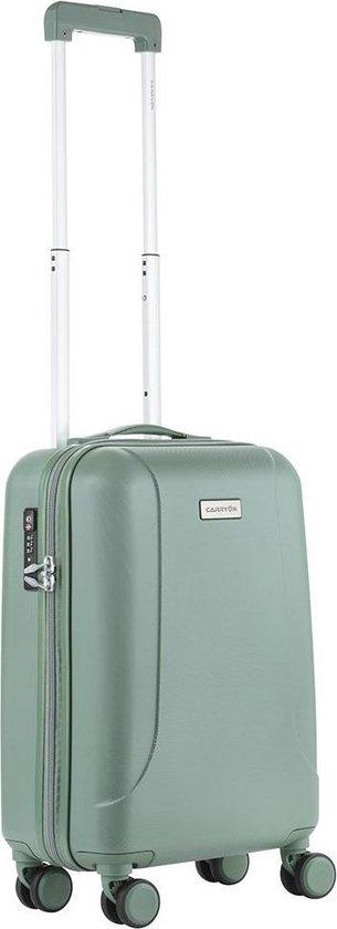 CarryOn Skyhopper Handbagage Koffer 55cm – TSA-slot – Okoban Registratie – Olijf