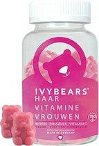 Gummies voor Haar, Huid & Nagels - Versterkende haar vitamines voor het haar - Ivybears Haar Vitamine Vrouwen - 60 gums