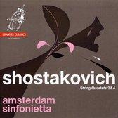 Amsterdam Sinfonietta - String Quartets 2&4