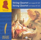 Mozart: String Quartet in G major, KV 387; String Quartet in D minor, KV 421
