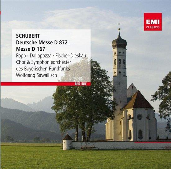 CD cover van Schubert: Deutsche Messe van Wolfgang Sawallisch