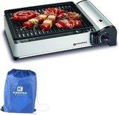 Portable smart gas barbecue | Tafelbarbecue | Campingkooktoestel |