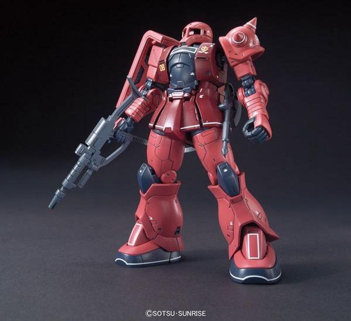 Gundam The Origin: High Grade - MS-05S Char Aznable s Zaku I 1:144 Model Kit