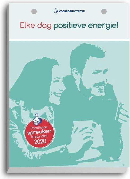 Afbeelding van Scheurkalender 2020 Positieve spreuken