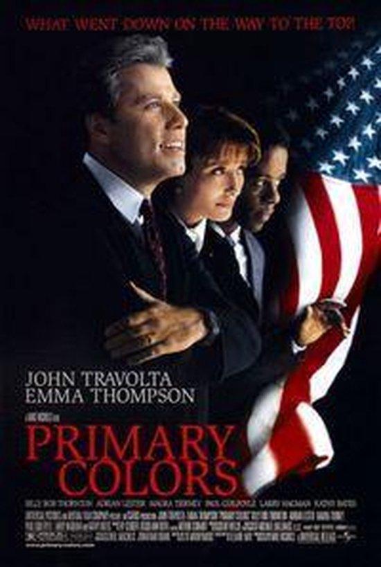Cover van de film 'Primary Colors'