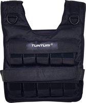 Tunturi Gewichtvest - Verstelbaar Pro - 20 kg - Zwart