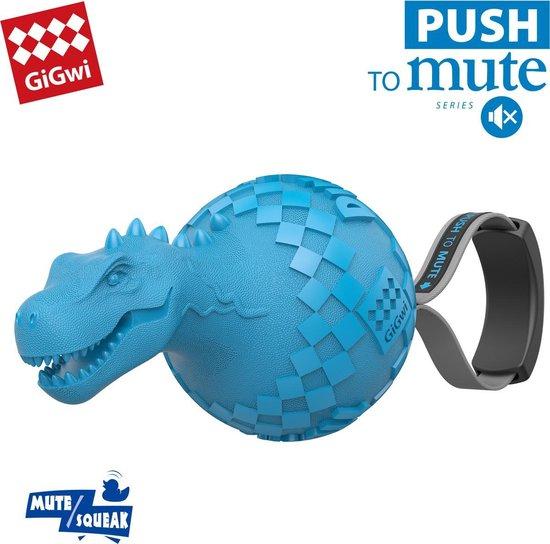 Gigwi Dinobal - T-Rex - Sterk hondenspeeltje - Hondenspeelgoed - Piepspeelgoed - Makkelijk uit te schakelen