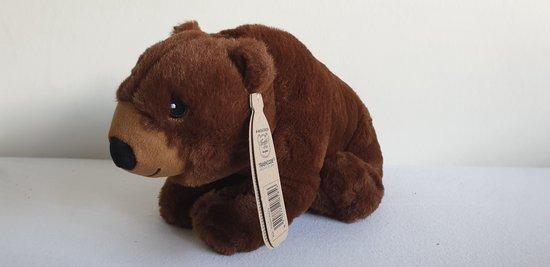 Eco Buddies knuffel -  Beer knuffel - Recicled plush toy - 30cm