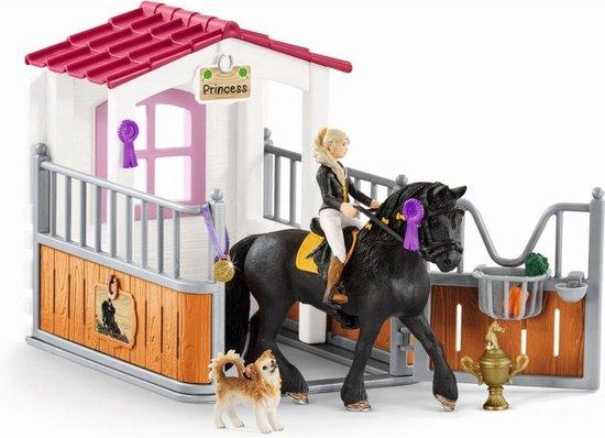 Schleich Horse Club - Tori en Princess - Paarden Speelgoed Meisjes (42437)