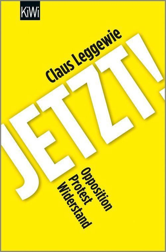 Boek cover Jetzt! van Claus Leggewie (Onbekend)
