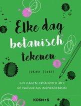 Kosmos Boek - Elke dag botanisch tekenen Scobie, Lorna (02-21)