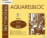 Schut Terschelling Aquarelblok glad 24x30 centimeter 300 gram - 20 sheets
