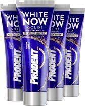 Prodent White Now Tandpasta - 4 x 75ml - Voordeelverpakking