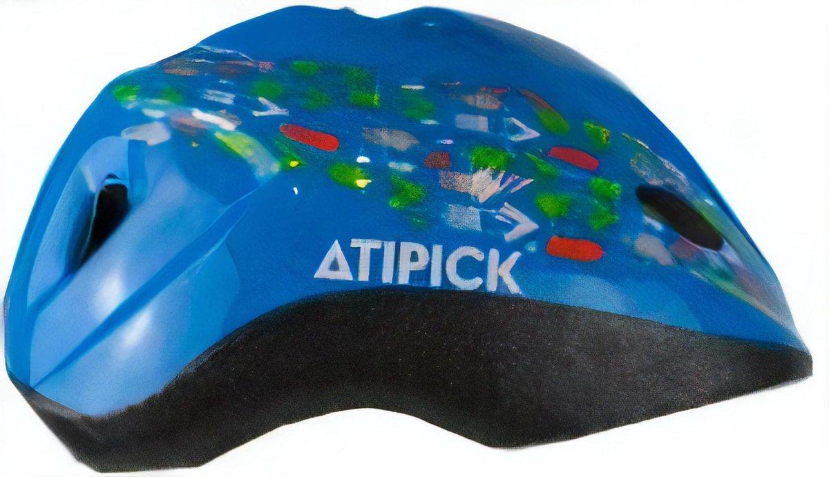 Atipick Fietshelm Rapid Outmold Junior 52-56 Cm Blauw