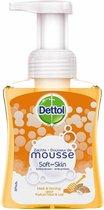 Dettol Handzeep Zachte Mousse - Melk & Honing - 250ml