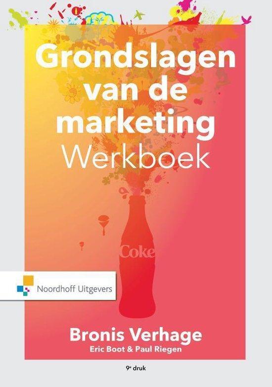 Boek cover Grondslagen van de marketing van Bronis Verhage (Paperback)