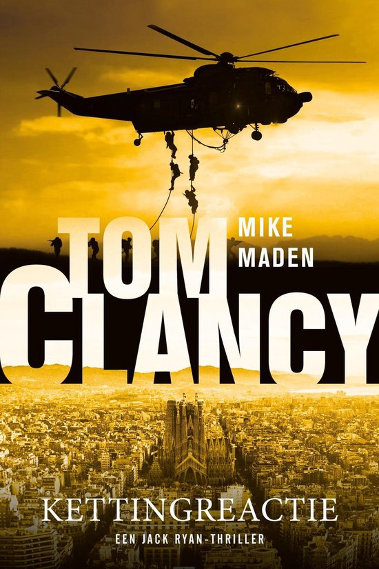 Boek cover Tom Clancy Kettingreactie van Mike Maden (Onbekend)