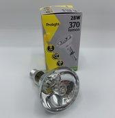 Prolight - E14 eco Lamp 370 Lumen 28watt - Warm white - Voordeel verpakking 5 stuks.!