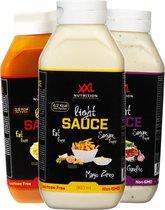 XXL Nutrition Light Saus Knoflook 960 ml