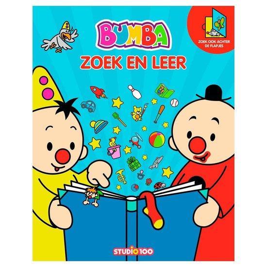 Bumba Groot Zoekboek Met Flapjes - Zoek En Leer