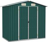 Medina Tuinschuur 205x129x183 cm gegalvaniseerd staal groen