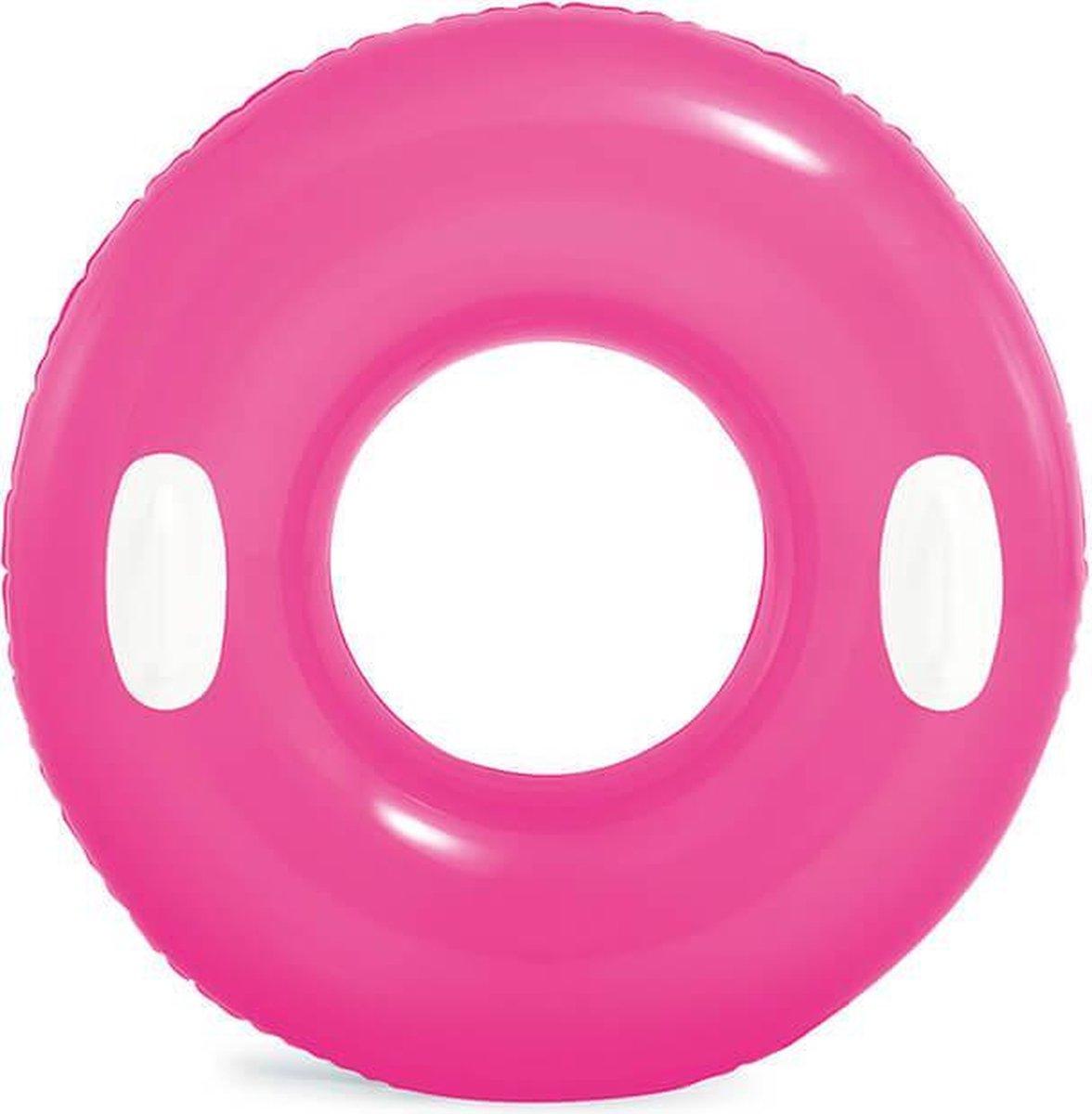Trend24 - Hi-Gloss zwemband-Roze