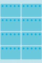 Huismerk Herma 3773 Diepvries Etiket 26x40mm Blauw - Pakje met 48 etiketten