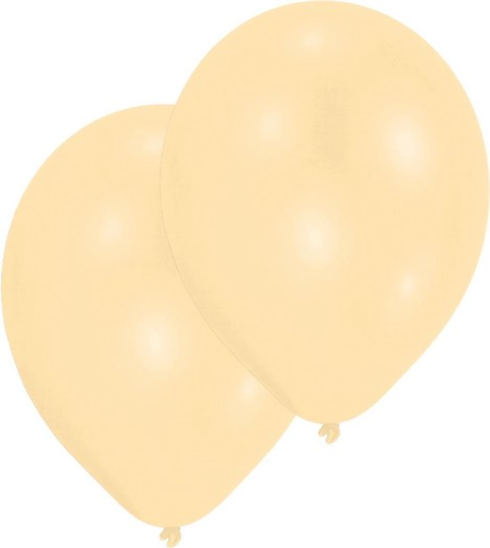 Amscan ballonnen Pearl Ivory 25 stuks 27,5 cm