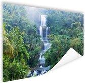 Nangga waterval Indonesie Poster 180x120 cm - Foto print op Poster (wanddecoratie woonkamer / slaapkamer) XXL / Groot formaat!