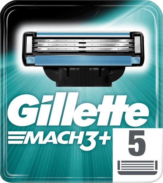 Gillette Mach3 Scheermesjes Mannen - 5 Stuks