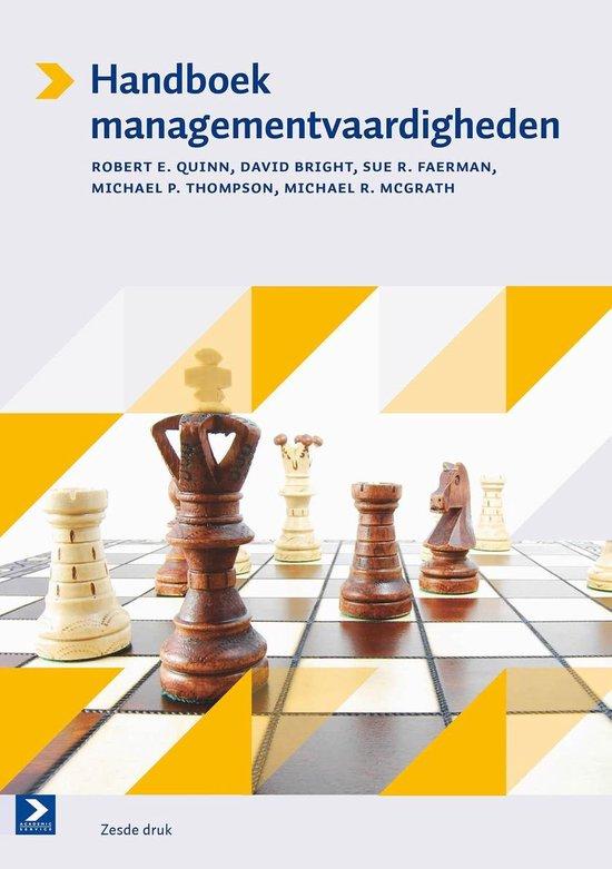 Afbeelding van Handboek managementvaardigheden