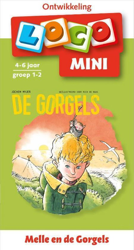 Afbeelding van Loco Mini - Melle en de Gorgels 4-6 jaar groep 1-2