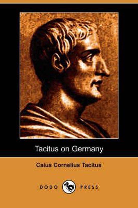Boek cover Tacitus on Germany (Dodo Press) van Caius Cornelius Tacitus
