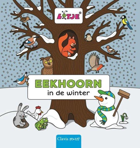 Eekhoorn in de winter - Lizelot Versteeg |