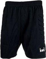KWD Keeperbroek kort - Zwart - Maat XL