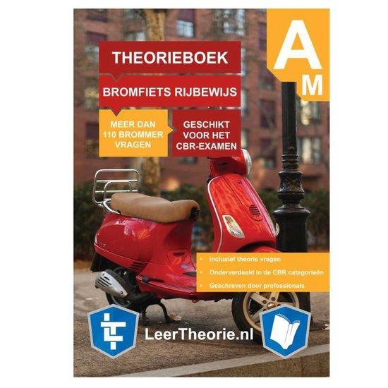 Boek cover BrommerTheorieboek Rijbewijs Am 2021 – Nederland – CBR BromfietsTheorie Boek van Leertheorie (Paperback)