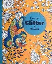 Glitter kleurboek - Ocean life