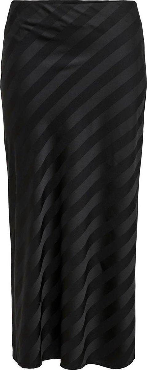 Onlmayra-ninette Hw Long Skirt Pnt 15206905 Black