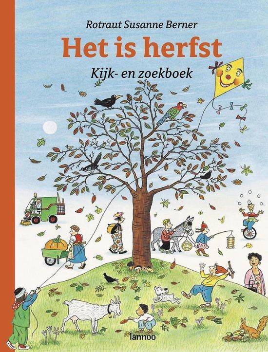 Boek cover Kijk- en Zoekboek - Het is herfst van Rotraut Susanne Berner (Hardcover)