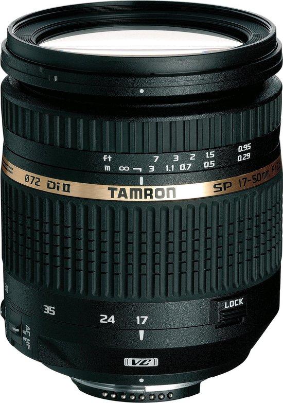 Tamron SP AF 17-50mm - F2.8 XR Di II VC LD Aspherical (IF) - groothoek zoomlens - Geschikt voor Canon
