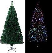 Kunstkerstboom - 150 cm - Met Standaard en verlichting - Complete kerstboom - Snelle montage