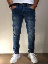 MASKOVICK Heren Jeans Milano stretch SlimFit -  MediumUsed - W34 X L34