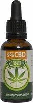 CBD olie 5% (Jacob Hooy) - 30 ml