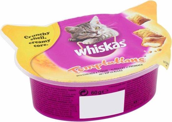 Whiskas Temptations kip en kaas
