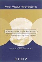 Ars Aequi Wetseditie  -   Constitutionele bronnen van Nederlandse rechtsgeschiedenis