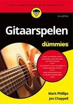 Boek cover Voor Dummies  -   Gitaarspelen voor Dummies van M. Phillips (Paperback)