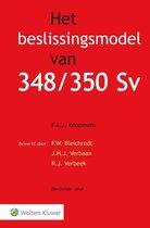 Omslag Het beslissingsmodel van 348/350 Sv
