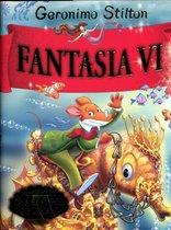 Boek cover Fantasia VI -   Fantasia VI van Geronimo Stilton (Hardcover)